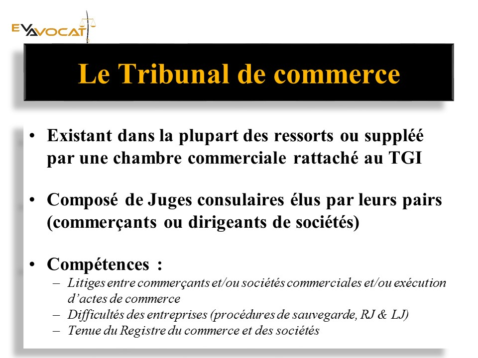 avocat 77 vautier Tribunal de commerce